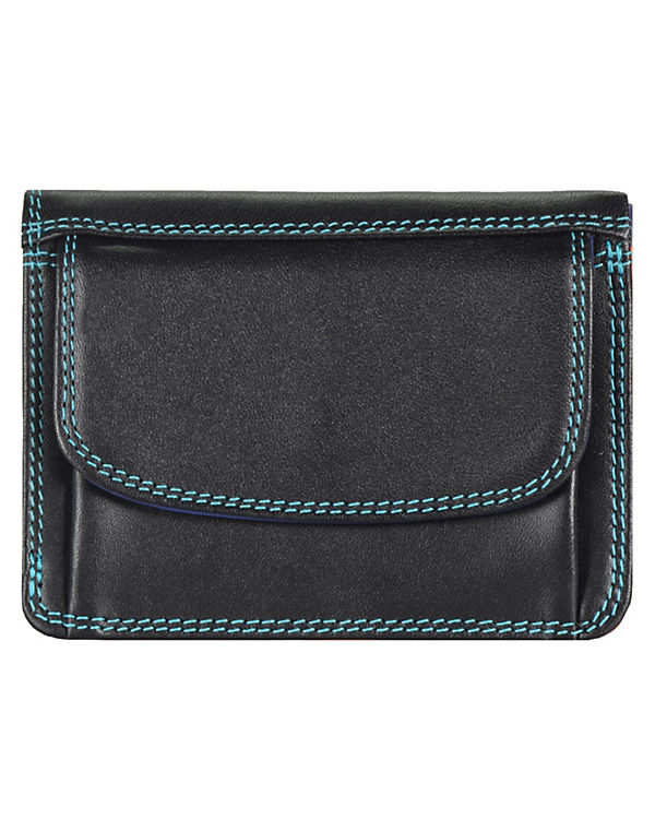 Mywalit Mywalit Small Tri-fold Wallet Geldbörse Leder 8 cm mehrfarbig