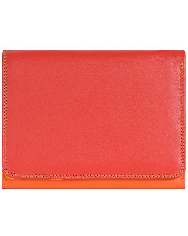 Mywalit Mywalit Medium Tri-fold Wallet Geldbörse Leder 12 cm mehrfarbig