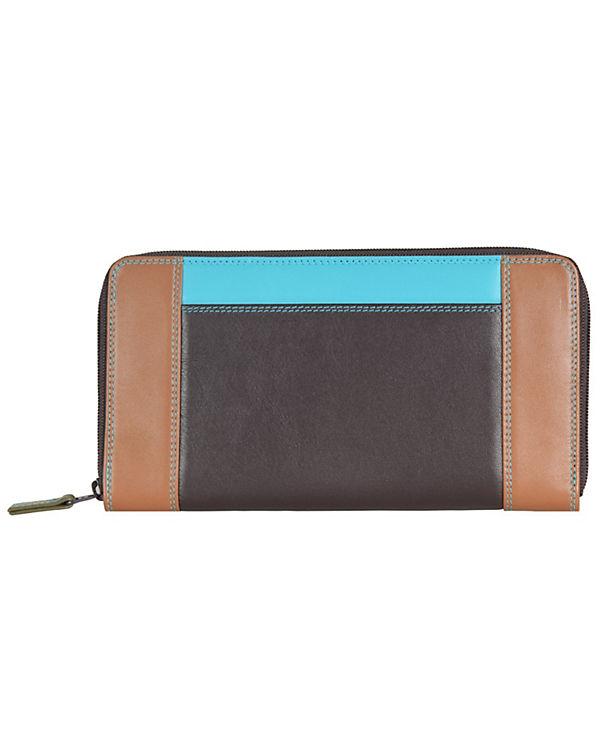 Mywalit Mywalit Zip Around Purse Geldbörse Leder 19 cm mehrfarbig