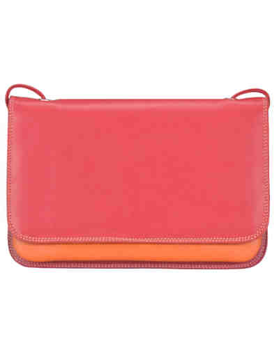 Mywalit Full Flap Multicomp Shoulder Clutch Leder 19 cm