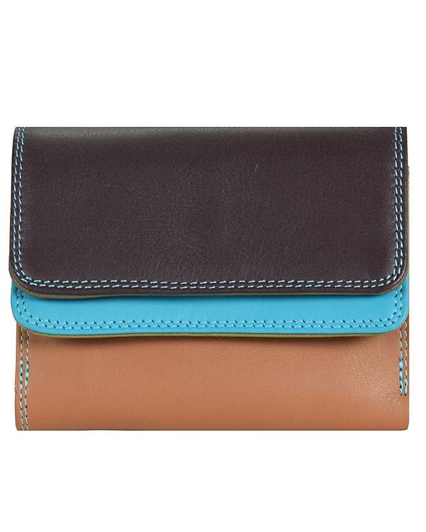 Mywalit Mywalit Small Double Flap Wallet Geldbörse Leder 10 cm mehrfarbig