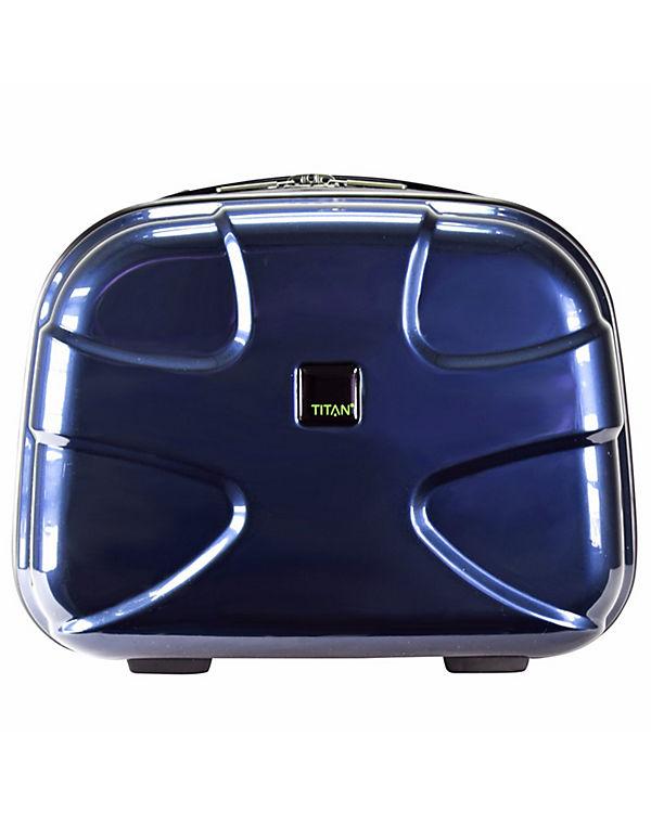 Titan Titan X2 Flash Beautycase 39 cm blau