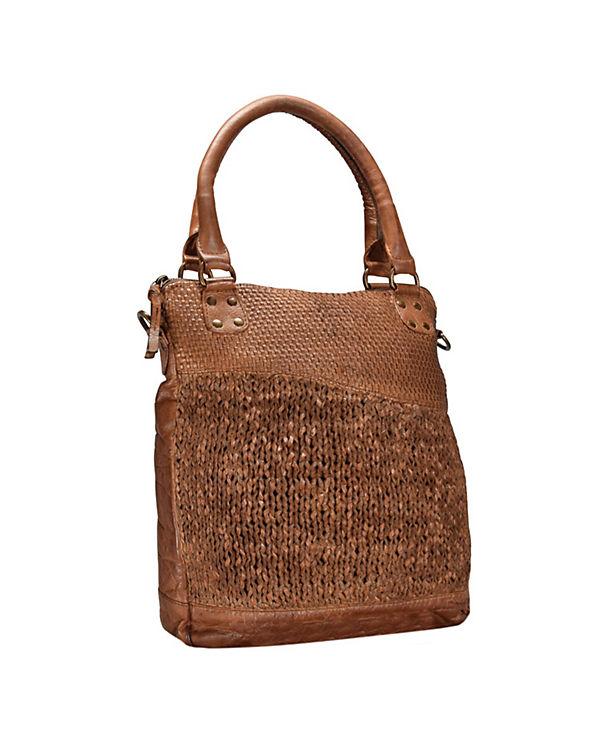 GreenLand Greenland Femi & Nine Ladies Bag Handtasche Leder 32 cm braun