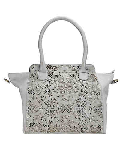Greenland Femi & Nine Ladies Bag Handtasche Leder 44 cm