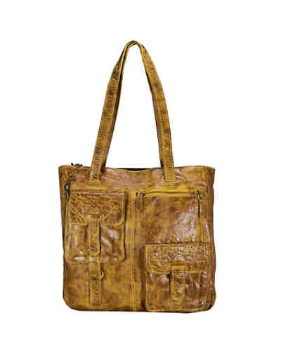 Billy the Kid Avery Schultertasche Leder 34 cm