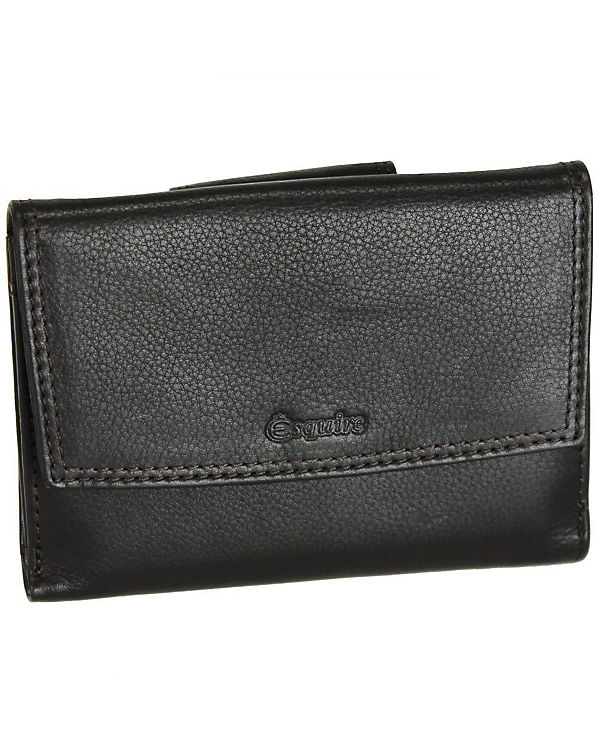 Esquire Esquire Duo Damengeldbörse Leder 13,5 cm braun