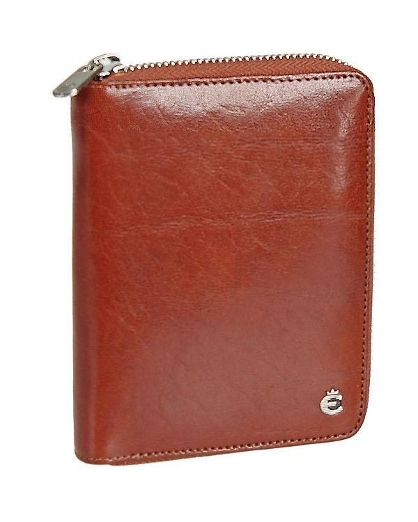Esquire Esquire Toscana Damengeldbörse Leder 14 cm braun