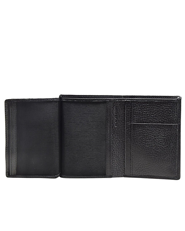 Esquire Esquire Deer Geldbörse Leder 9 cm schwarz