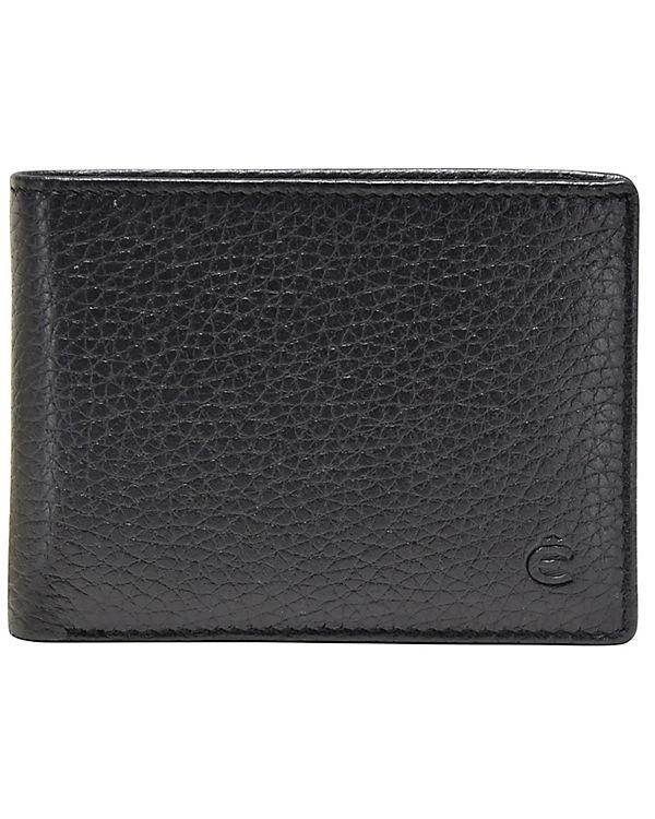 Esquire Esquire Deer Geldbörse Leder 10 cm schwarz