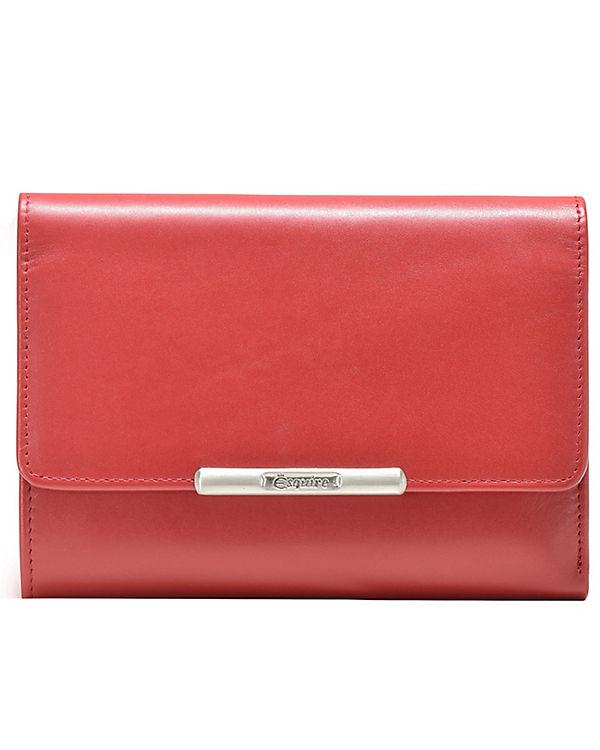 Esquire Esquire Helena Geldbörse Leder 14 cm rot