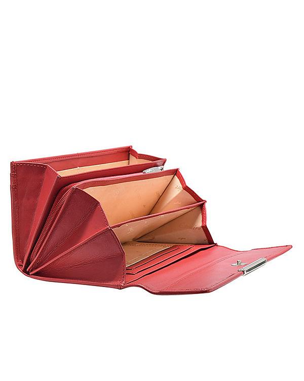Esquire Esquire Helena Geldbörse Leder 18 cm rot