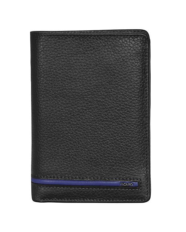 PICARD PICARD Luca Geldbörse Leder 9,5 cm schwarz