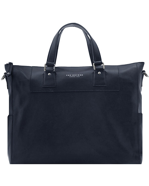 The Bridge Artisan Uomo Shopper Tasche Leder 40 cm Laptopfach