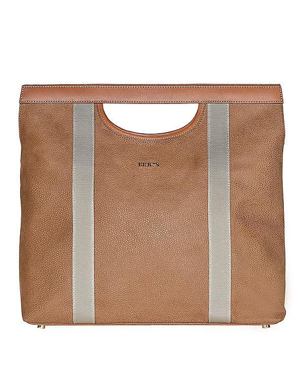 Bric's Bric's Life Handtasche 36 cm beige