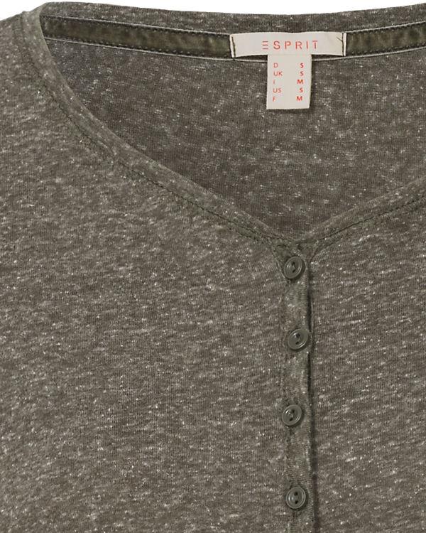 ESPRIT Langarmshirt khaki