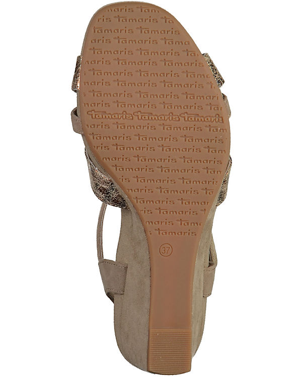 Tamaris Sandaletten grau