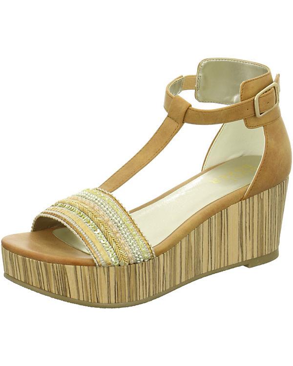 BULLBOXER Sandaletten braun