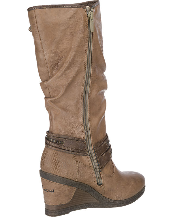 MUSTANG Stiefel camel