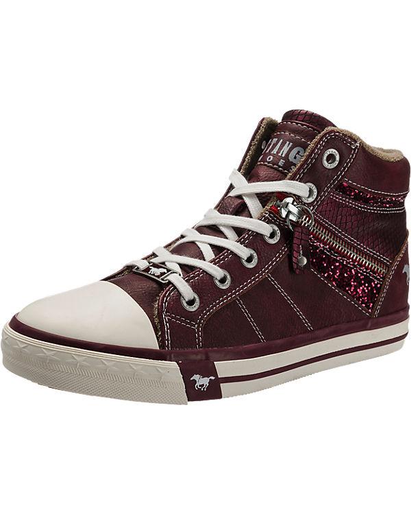 MUSTANG Sneakers rot-kombi