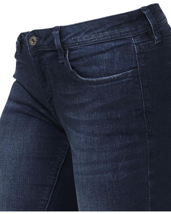 edc by ESPRIT Jeans Skinny Low Rise dark blue denim