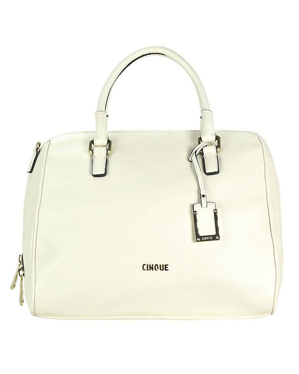 CINQUE CINQUE Ciroberta Shopper Leder 32 cm beige