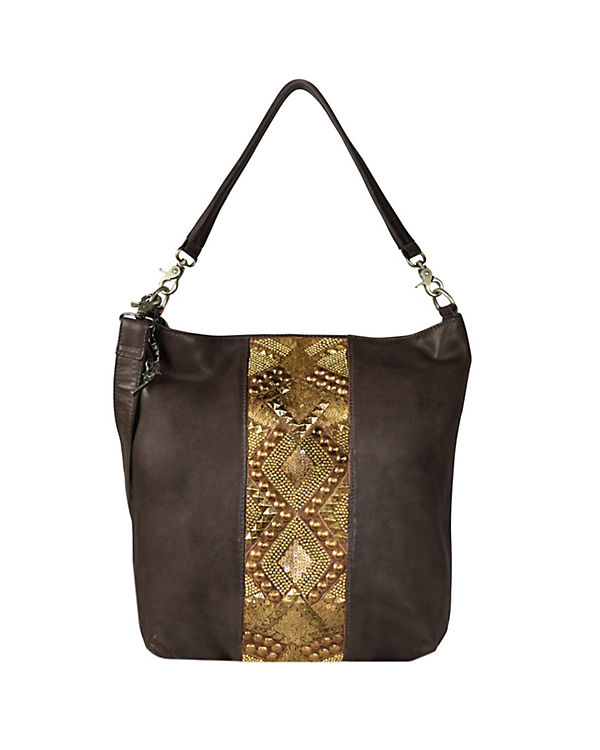 Billy the Kid Zari Shopper Tasche Leder 37 cm