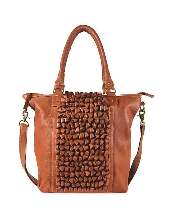 Greenburry Greenburry Loops Shopper Tasche Demi Leder 33 cm orange