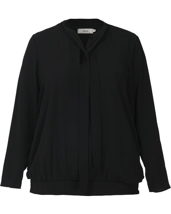 Zizzi Bluse schwarz