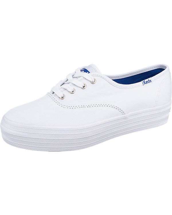 Keds Triple Seas Solid Canvas Sneakers