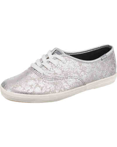 Keds Champion Metallic Leather Sneakers