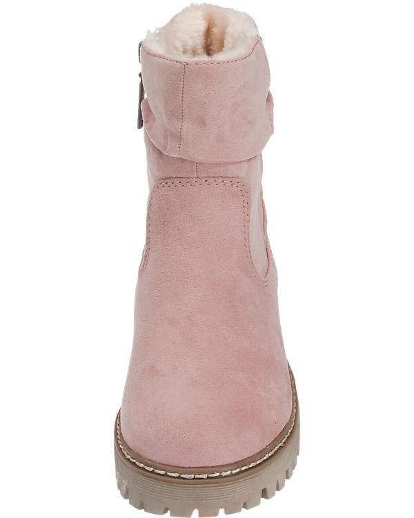 s.Oliver Stiefeletten rosa