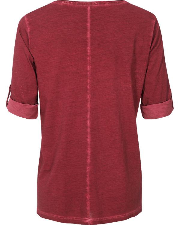s.Oliver 3/4-Arm-Shirt bordeaux
