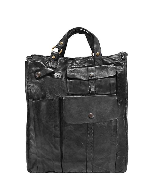 Campomaggi Campomaggi Lavata Shopper Leder 32 cm schwarz