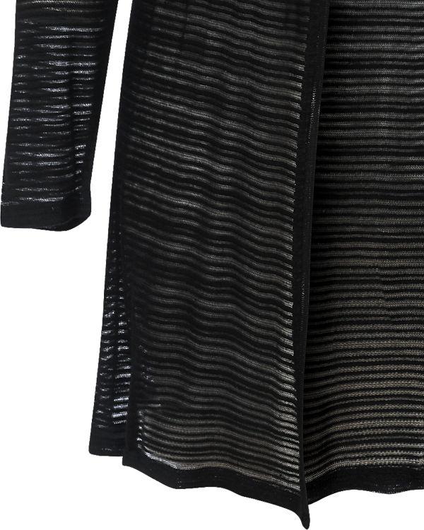 JUNAROSE Strickjacke schwarz