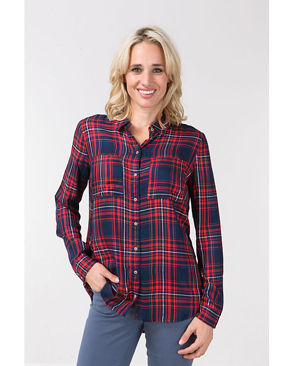 ONLY Bluse rot-kombi