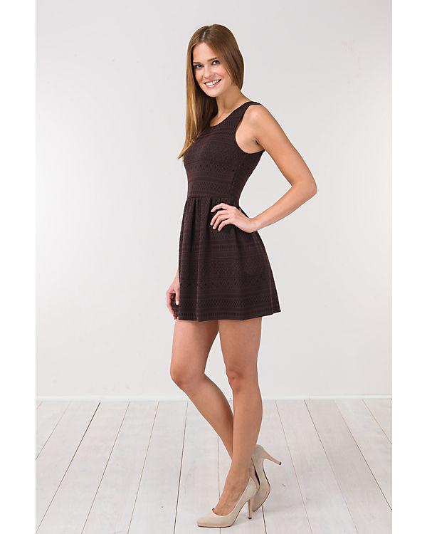 ONLY Kleid braun