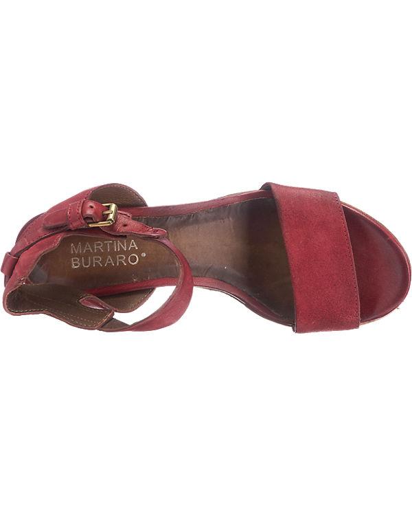 Artina Buraro Florida Sandaletten rot