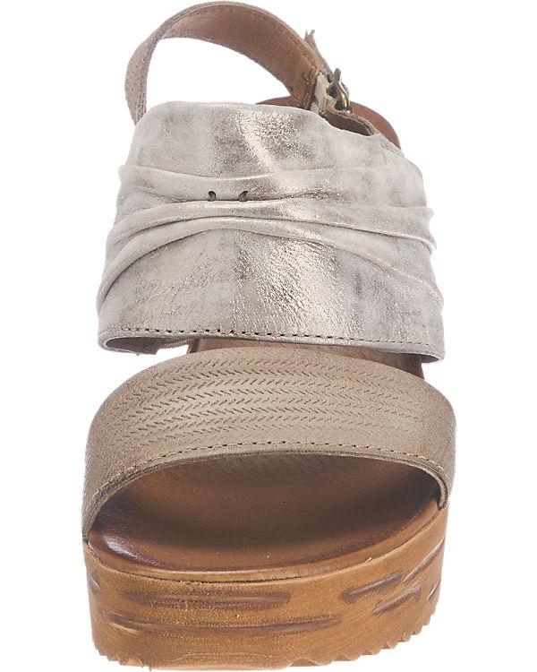 Artina Buraro Zat Sandaletten hellbraun