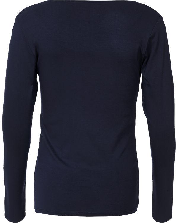 ESPRIT for mums Stilllangarmshirt dunkelblau