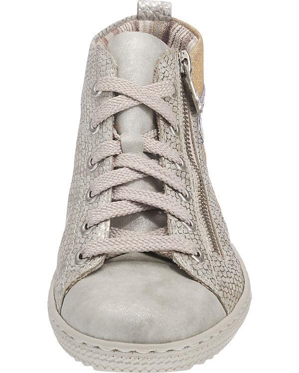 rieker Sneakers grau-kombi