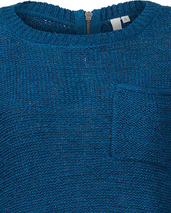 Q/S Pullover blau