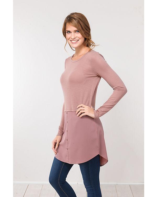 VILA Langarmshirt rosa