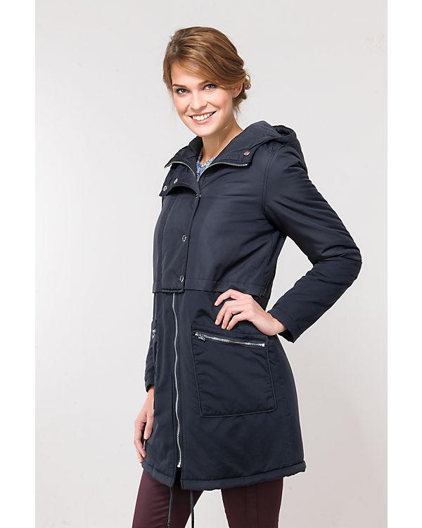 VILA Mantel schwarz