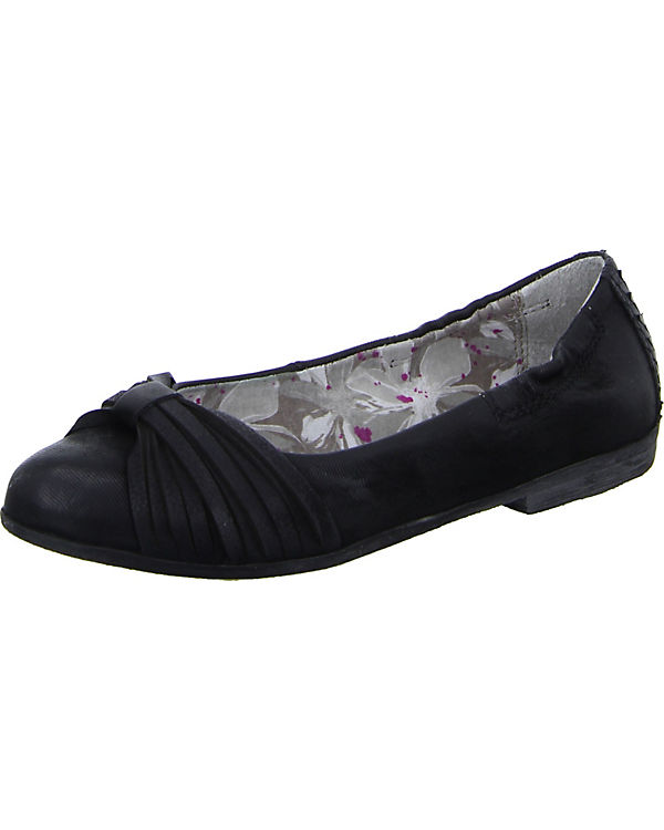 MJUS Ballerinas schwarz