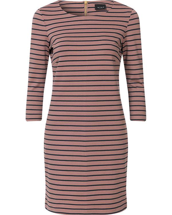 VILA Kleid rosa/anthrazit
