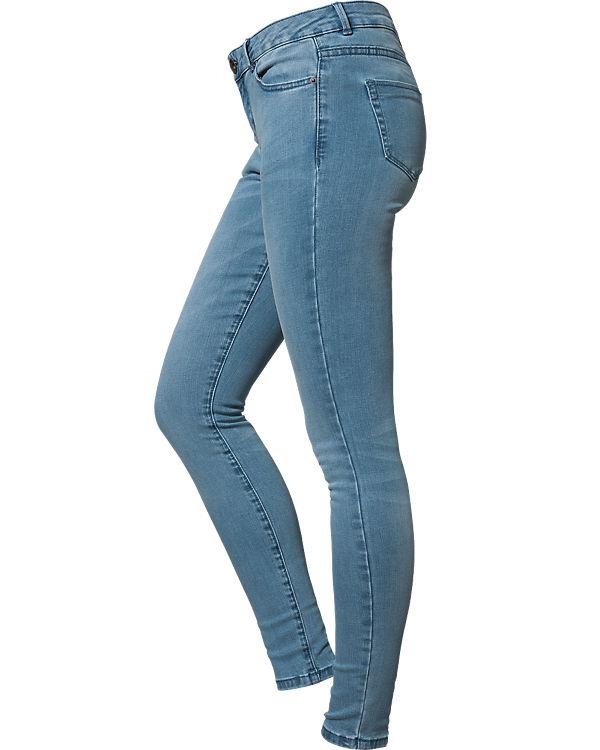 REVIEW Jeans Skinny hellblau