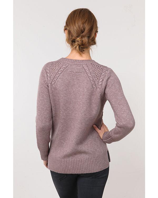 BASEFIELD Pullover braun