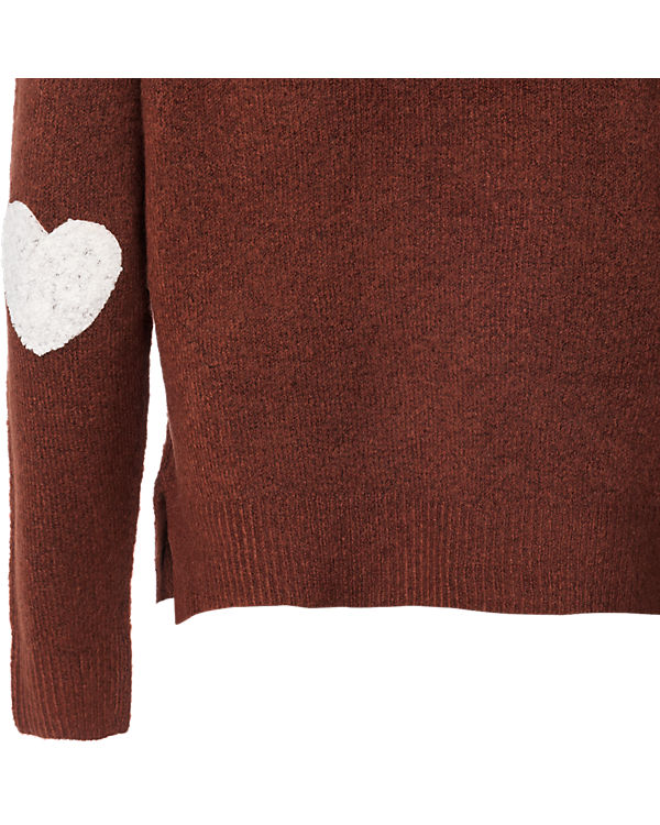 ONLY Pullover rot/braun