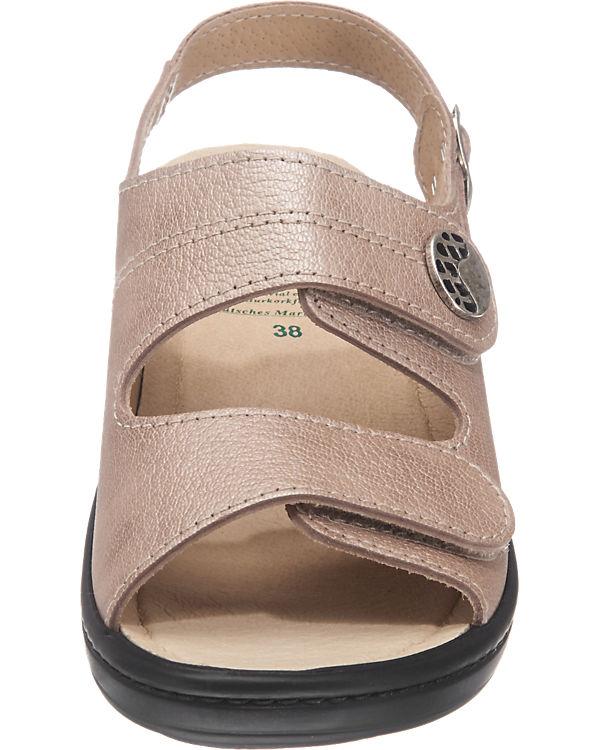 Franken-Schuhe Sandalen beige