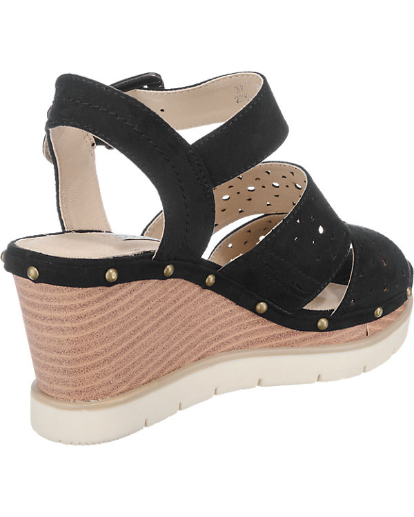 bugatti Aura Sandaletten schwarz